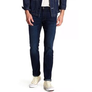 Joes | Slim Straight Stretch Jeans in Dark Wash